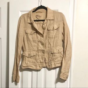 Size M Lucky Brand button up jacket